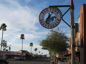 Old Town Scottsdale is the place to be if you are looking for nightlife, culture, or arts. It is also a great place to people watch!